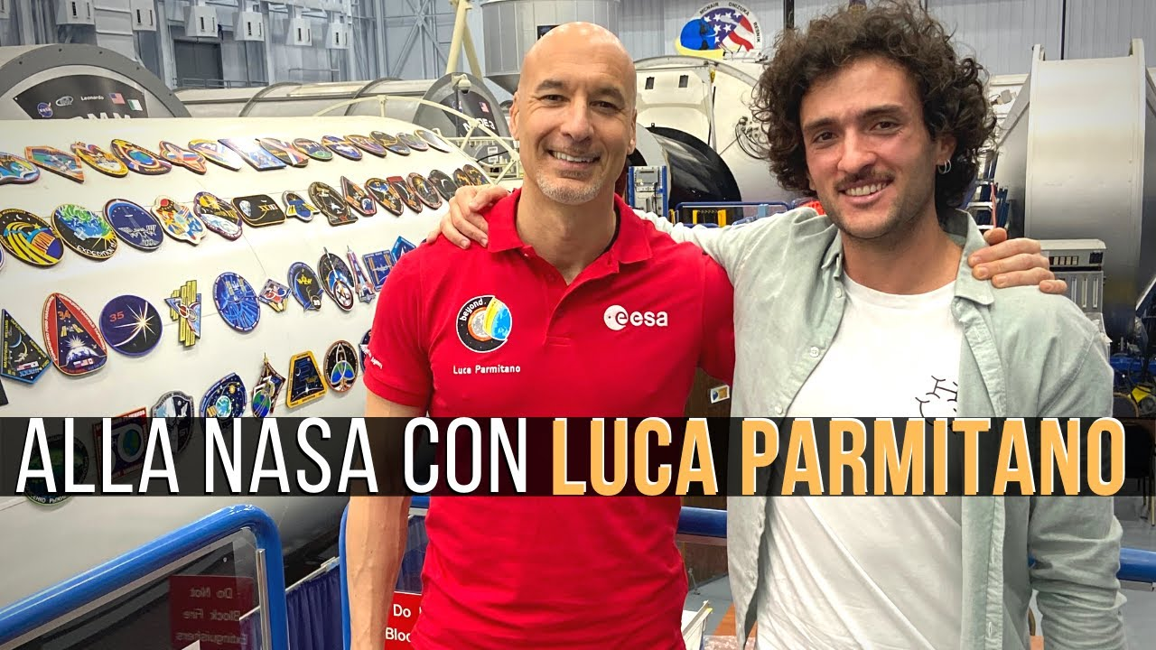 giuseppe progetto happiness intervista con Luca Parmitano