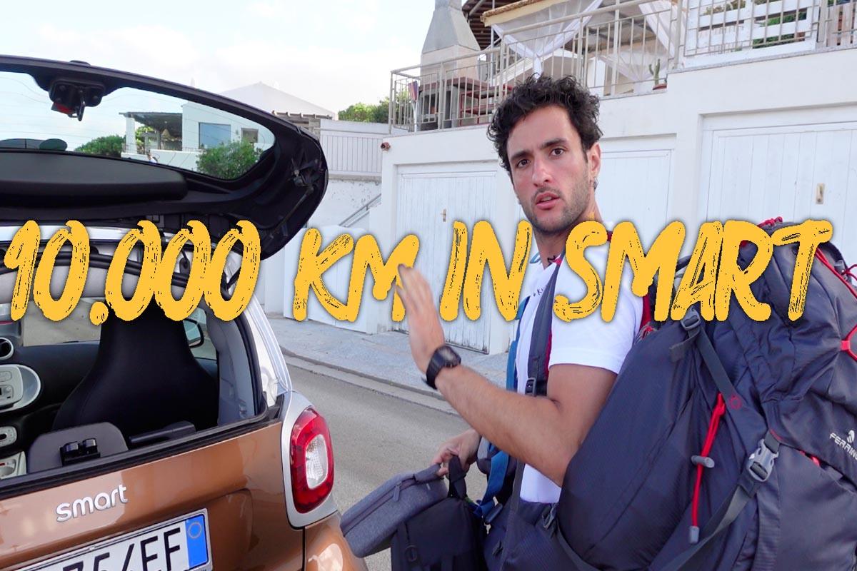 Giuseppe Bertuccio d'Angelo e Progetto Happiness, attraversare l'Italia in Smart