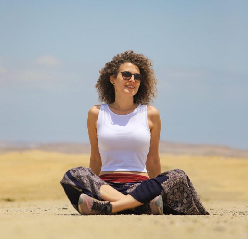Teresa Agovino, esperta di turismo sostenibile