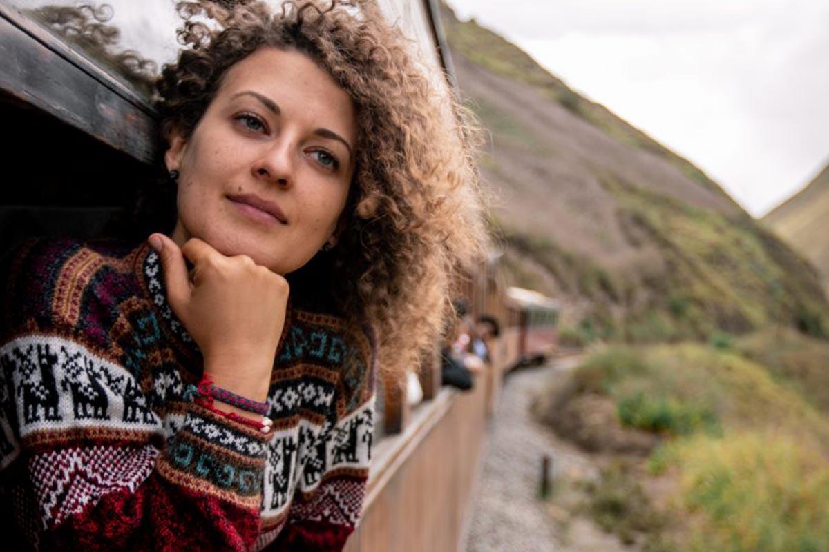 Teresa Agovino in viaggio
