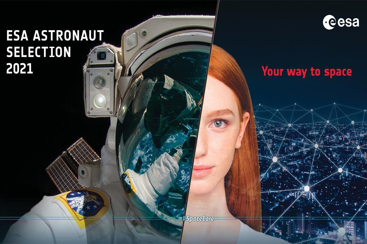 come diventare astronauta, aperto bando Esa